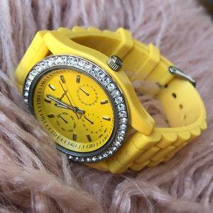 Yellow 🌻 Women's Adjustable Watch